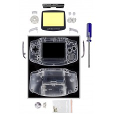 GameBoy Advance Replacement Shell [Clear